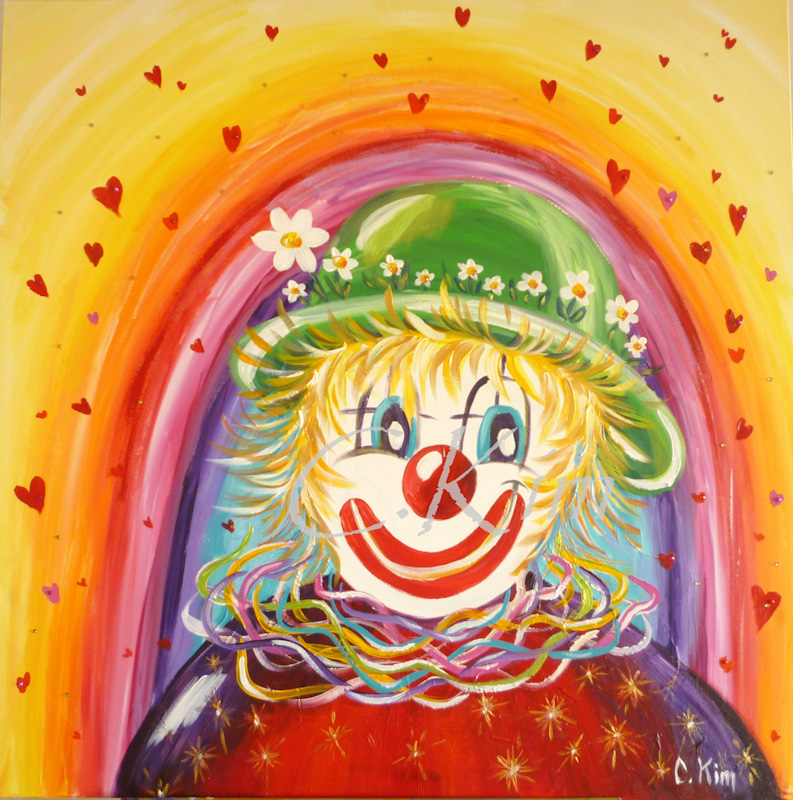 Catherine kim cr ation d cors for Decoration fenetre clown